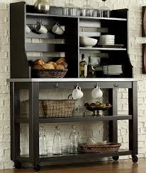 Dining Room Storage Hutch Inspirierend Antique Wooden Bakers Rack Kitchen Solutions Open Shelves