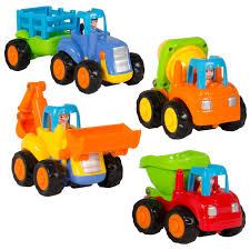 100 Cement Mixer Toy Truck BestChoiceProducts Best Choice Products Set Of 4 Push And Go