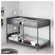Norddal Bunk Bed by Tuffing Bunk Bed Frame Dark Grey 90x200 Cm Bed Frames Bunk Bed