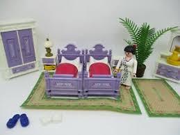 playmobil möbel zum schlafzimmer zum nostalgie puppenhaus