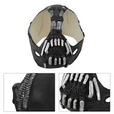 Halloween Voice Changer Walmart by Universal Bane Mask Batman Cosplay Helmet 3d Bane Latex Mask With