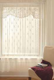 Anna Lace Curtains With Attached Valance by Lace Curtains Walmart Home Design Ideas And Pictures