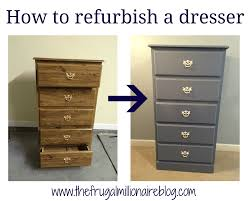 My refurbished dresser
