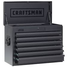 Craftsman 26 In Wide 6 Drawer Heavy Duty Top Chest, Flat Black ... Clamp Tool Box Clamps Or Better Built Truck Toolbox Mounting Kit Quick Craftsman Tool Box Restoration Youtube Craftsman Boxes Upc Barcode Upcitemdbcom Kennedy Manufacturing Drawer Roller Cabinet With Chest Glancing Poly Plastic By Dzee To Best Whats In My 3 Drawer Toolbox Shop At Lowescom 26 Wide 6 Heavy Duty Top Flat Black Kodiak 3drawer Inrmediate Red74103 The Home Depot All Steel Cstruction Boxes Amazon Drill Press Vise Electric