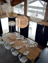 les 25 meilleures idées de la catégorie rideaux de salle à manger