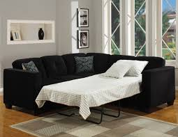 Buchannan Faux Leather Corner Sectional Sofa Black by Sectional Sleeper Sofas Roselawnlutheran