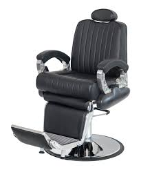 Fully Reclining Barber Chair by Apollo Professional Barber Chair