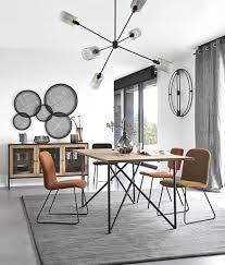 wanddeko aus metallgeflecht schwarz 105x131 maisons du monde