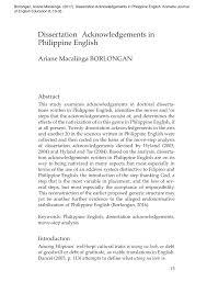 PDF Dissertation Acknowledgements The Anatomy Of A Cinderella Genre