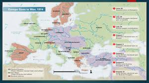 Where Did The Lusitania Sunk Map by World War 1 The Great War The Great War World War I The War To