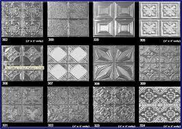 shower tin backsplash tiles