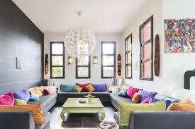 canapes gris déco salon moderne pour une atmosphère chaleureuse