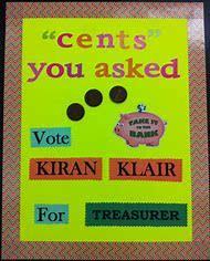 Student Council Treasurer Poster Ideas