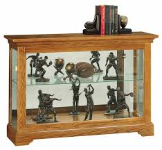 oak curio cabinets the clock depot