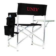 Picnic Time UNLV Black Sports Chair With Embroidered Logo-809-00-179 ... Amazoncom San Francisco 49ers Logo T2 Quad Folding Chair And Monogrammed Personalized Chairs Custom Coachs Chair Printed Directors New Orleans Saints Carry Ncaa Logo College Deluxe Licensed Bag Beautiful With Carrying For 2018 Hot Promotional Beach Buy Mesh X10035 Discountmugs Cute Your School Design Camp Online At Allstar Pnic Time University Of Hawaii Hunter Green Sports Oak Wood Convertible Lounger Red