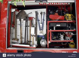 Tools On Fire Truck Stock Photo: 281064452 - Alamy