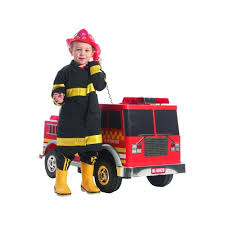 100 Fire Truck Ride On Shop Kalee 12v Red Free Shipping Today