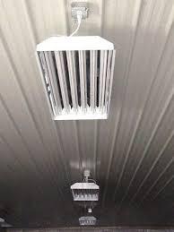 6 bulb t5ho fluorescent lighting fixtures high output shop lights