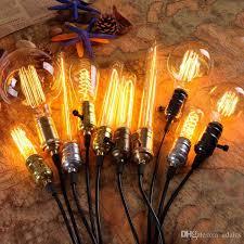 40w antique retro vintage edison light bulb e27 incandescent light