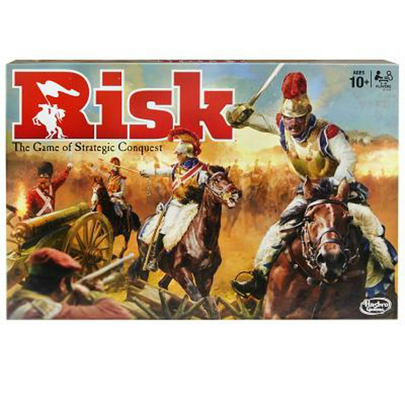 Hasbro Gaming Risk The Game of Stategic Conquest Board Game - 2-5 Players