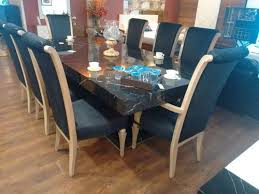 Dining Chairs Contemporary Indian Style Table And Elegant 8 Seater Set