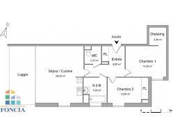 chambre a louer blagnac appartement 3 pièces à louer blagnac 31700 68 2 m2 foncia