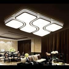 led integrated lighting unique rectangle flush mount ceiling lights
