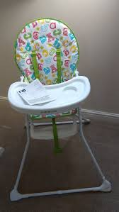Mothercare Abc High Chair (nearly New)