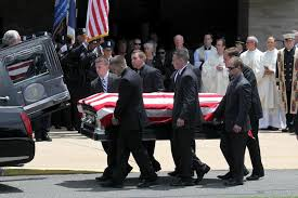 In Springfield a solemn spectacle at funeral of fallen officer