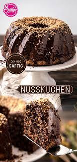 nusskuchen saftig schokoladig sonntags klassiker kuchen