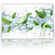 spritzschutz glas limetten 60 x 40 cm und 90 x 60 cm