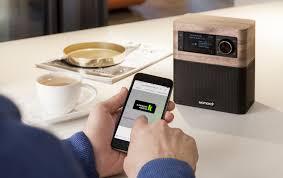 dab radio and multi room bluetooth speaker minimal