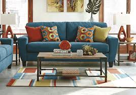 sagen teal sofa set