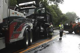 Truck Crash Closes Route 517 In Ogdensburg - New Jersey Herald - A View Of An Overturned Truck On Highway In Accident Stock Traffic Moving Again After Overturned 18wheeler Dumps Trash On Truck Outside Of Belvedere Shuts Down Sthbound Rt 141 Us 171 Minor Injuries Blocks 285 Lanes Wsbtv At Millport New Caan Advtiser Drawing Machine Photo Image Road Brutal Winds Overturn Trucks York Bridge Abc13com Dump Blocks All Northbound Lanes I95 In Rear Wheels Skidded Royalty Free