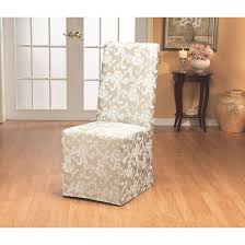 Sure Fit Folding Chair Slipcovers by Long Dining Room Chair Slipcovers Sure Fit Target
