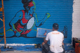 Big Ang Mural Brooklyn by Exclusive Gatorade Unveils Serena Williams Mural In Brooklyn