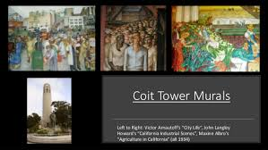 Coit Tower Mural City Life by The New Deal And The Arts