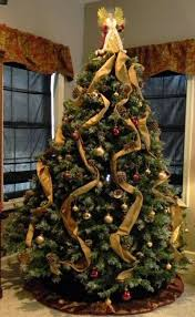 tree decorations ideas with ribbons how to decorate a tree with organza ribbon how to put