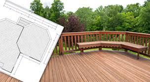 Deck Designing by Coolest Backyard Deck Designs Plans H81 For Furniture Home Design