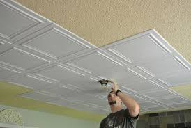 Polystyrene Ceiling Tiles Fire by Styrofoam Ceiling Tiles U2013 Original And Affordable Ceiling Design Ideas