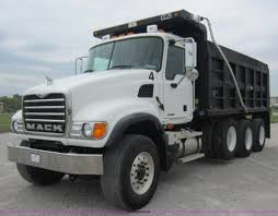 2007 Mack CV713 Granite Dump Truck | Item D5651 | SOLD! Thur...