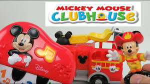 100 Mickey Mouse Fire Truck My First Piano From Clubhouse