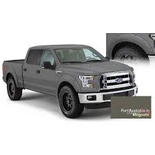 Bushwacker Color-Matching Pocket Style Fender Flares For 2015-2016 ... 42008 Ford F150 Riveted Fender Flares By Rough Country Youtube Pocket Style Flare Set Of 4 Oe Matte Black 20934 Bushwacker 2092702 Max Coverage Pocketstyle 02014 Raptor Svt Bushwacker 19992007 F350 Front And Generic Body Side Molding Trim 0408 Reg Cab Short Bed 52017 Oestyle 2093702 Ranger Mki Set 0914 Raptorstyle Extafender Rear Stampede 84142 Ruff Riderz Smooth Pc