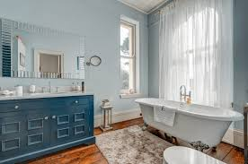 10 Ways To Add Color Into Your Bathroom Design | Freshome.com Bathroom Royal Blue Bathroom Ideas Vanity Navy Gray Vintage Bfblkways Decorating For Blueandwhite Bathrooms Traditional Home 21 Small Design Norwin Interior And Gold Decor Light Brown Floor Tile Creative Decoration Witching Paint Colors Best For Black White Sophisticated Choice O 28113 15 Awesome Grey Dream House Wall Walls Full Size Of Subway Dark Shower Images Tremendous Bathtub Designs Tiles Green Wood