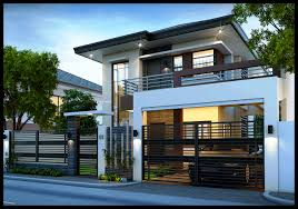 100 Contemporary Duplex Designs House Plan Samples Double Story Modern Plans Two Storey Design