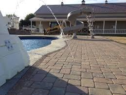 swimming pool paver patio in columbus ohio contemporary patio