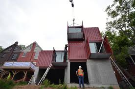 100 Houses Built From Shipping Containers Hamilton Gets One Of The Countrys First Urban Shipping