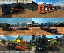 100 Euro Truck Sim Mods Truck Simulator 2 Mods Trailer Skin Pack Download Dracula
