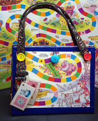 Upcycled Candy Land Board Game Purse