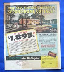 Jim Walter Homes Floor Plans by Vtg Jim Walter Homes Home Floor Plans Ad Brochure Print Jim